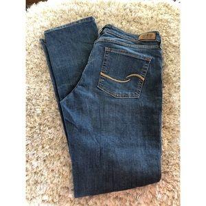 Levi's Modern Straight Jeans Size 14 Long